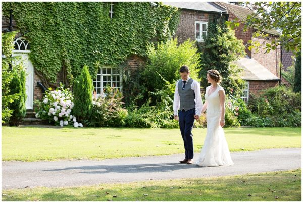 Lucy & Adam {Wedding Photography at The Secret Garden, gringley}