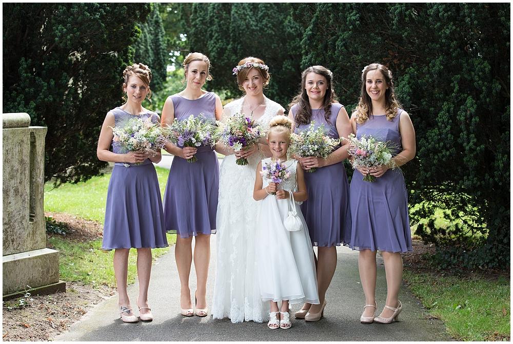Wedding Photography at The Secret Garden, Gringley