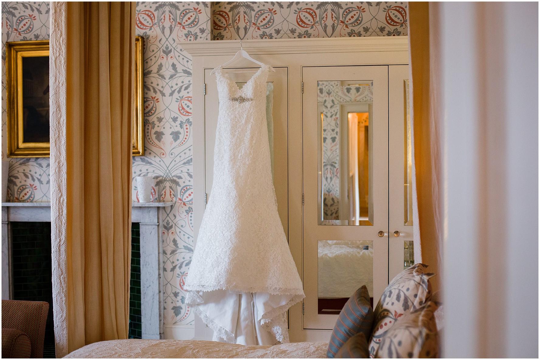 Hodsock Priory Bridal suite