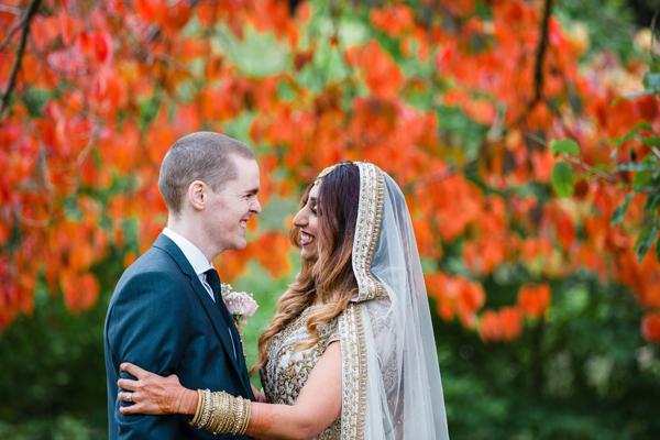Multicultural wedding at Norwood Park