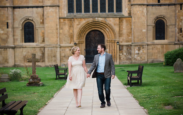 A quintessentially English engagement session {Cat & Sam ~ Southwell}