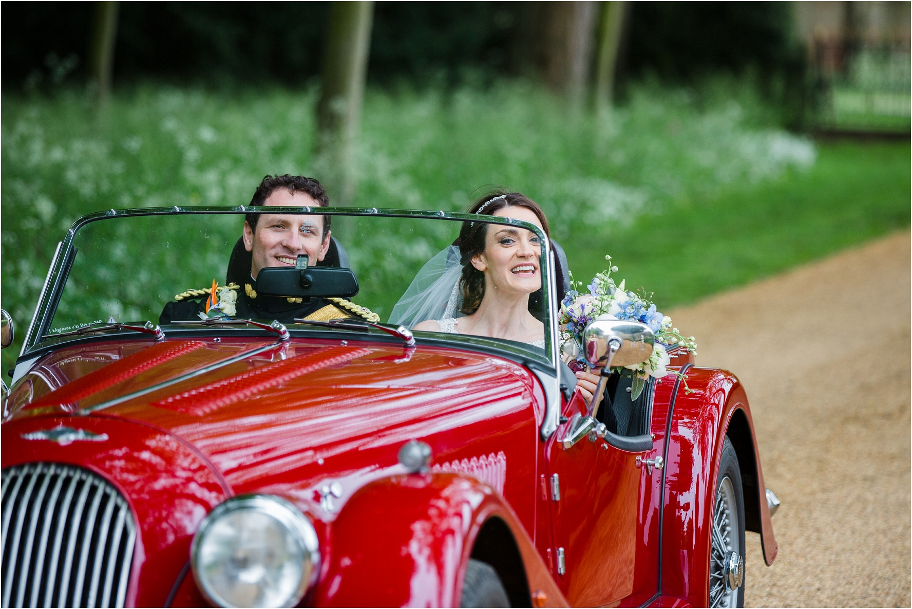 Military Wedding at The Orangery Settrington