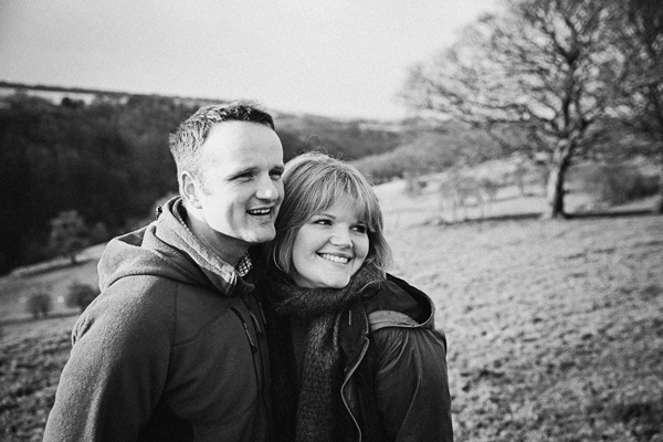 Engagement session in the Peaks