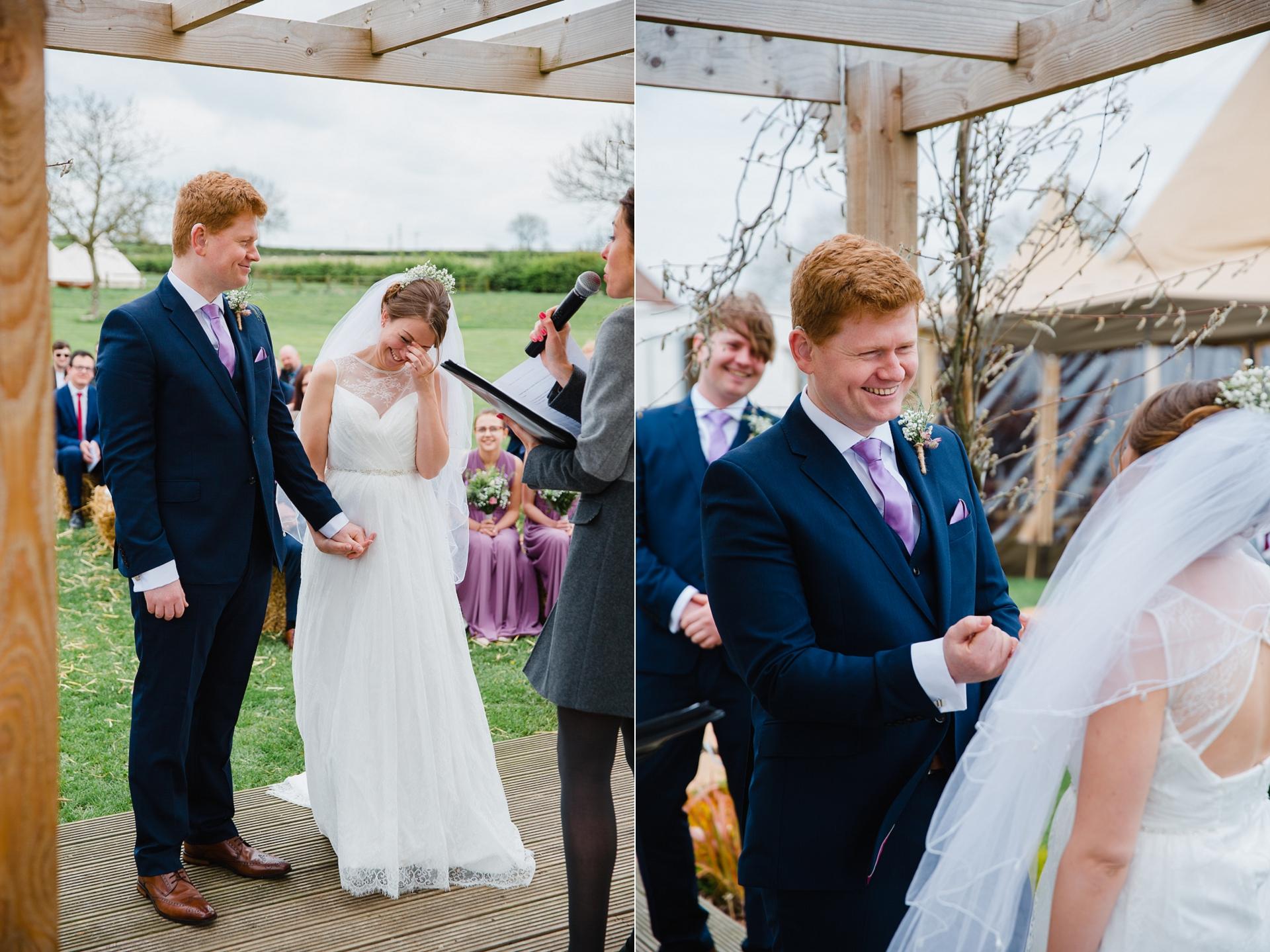 alternative outdoor wedding ceremony