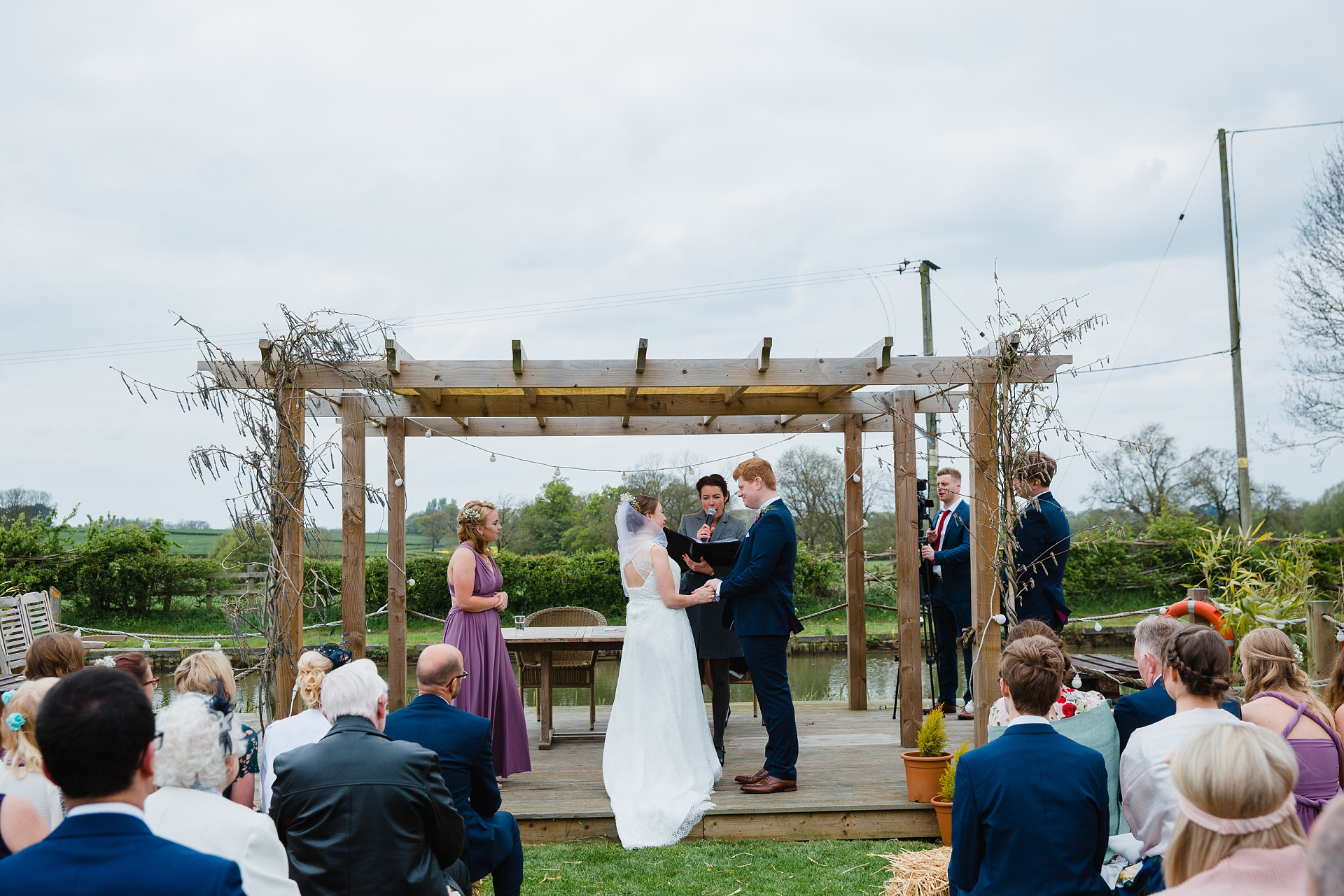 alternative outdoor wedding ceremony