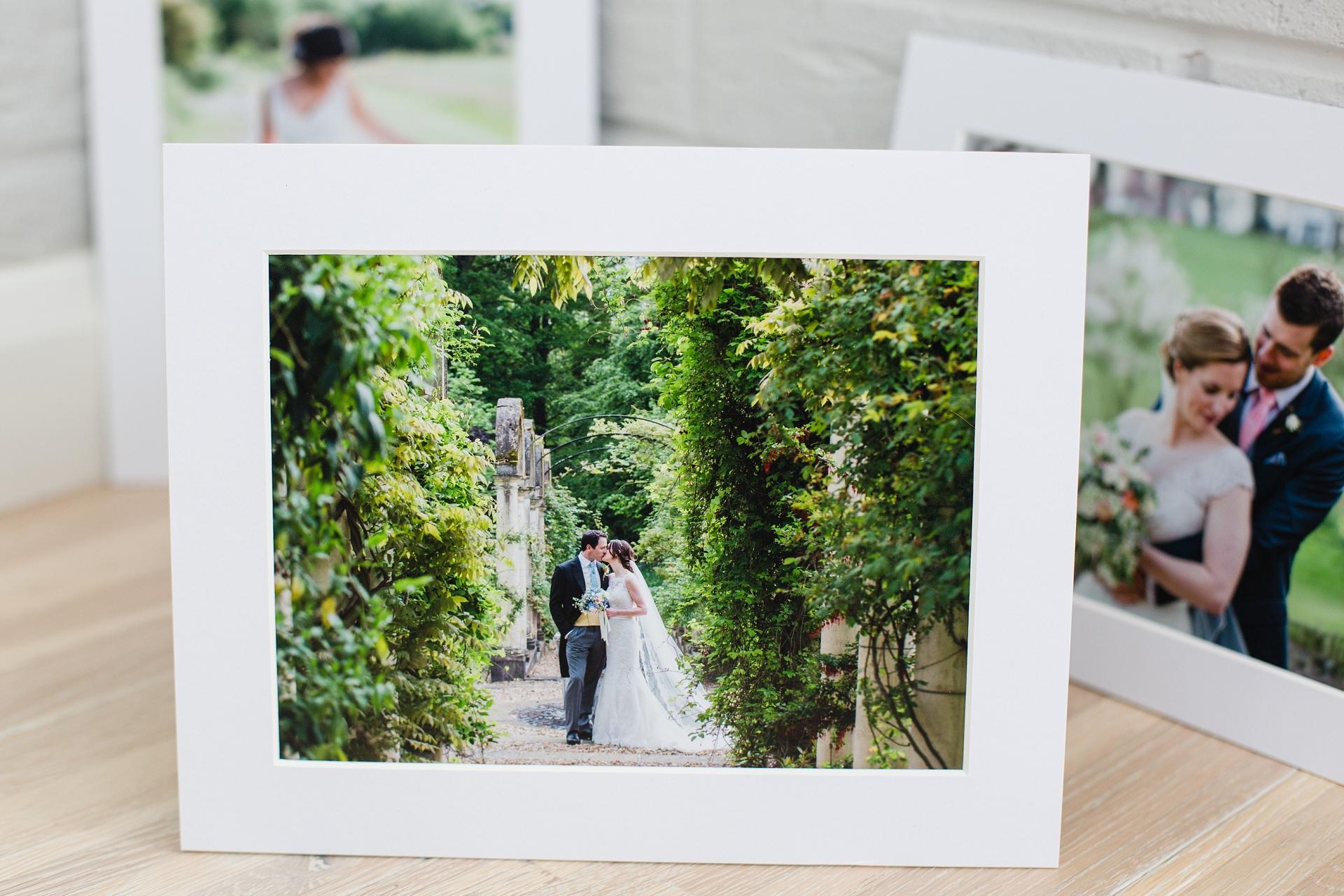 Printing your wedding photos