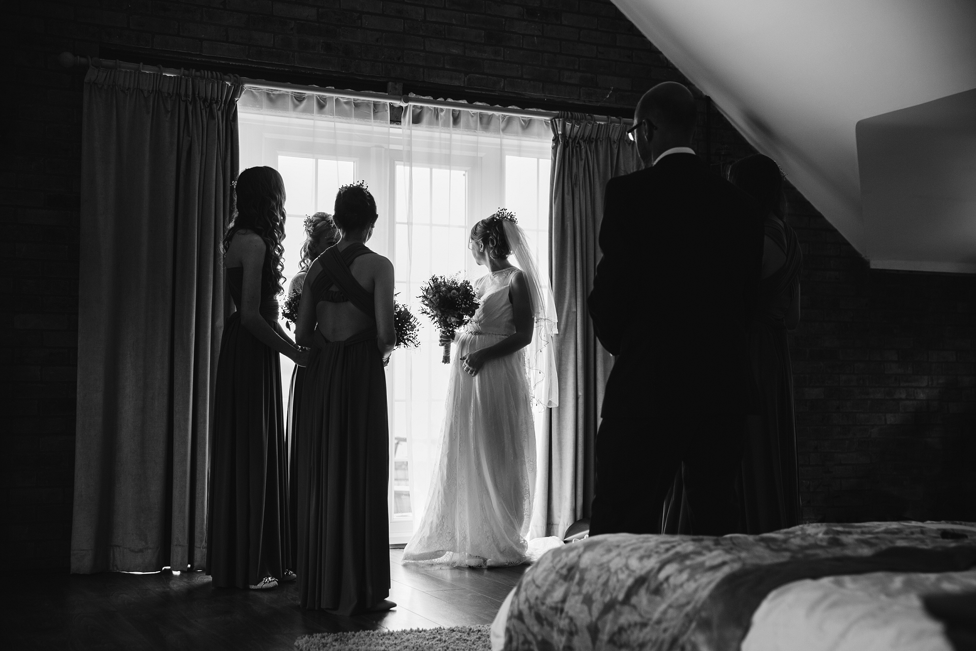Natural story telling wedding photography