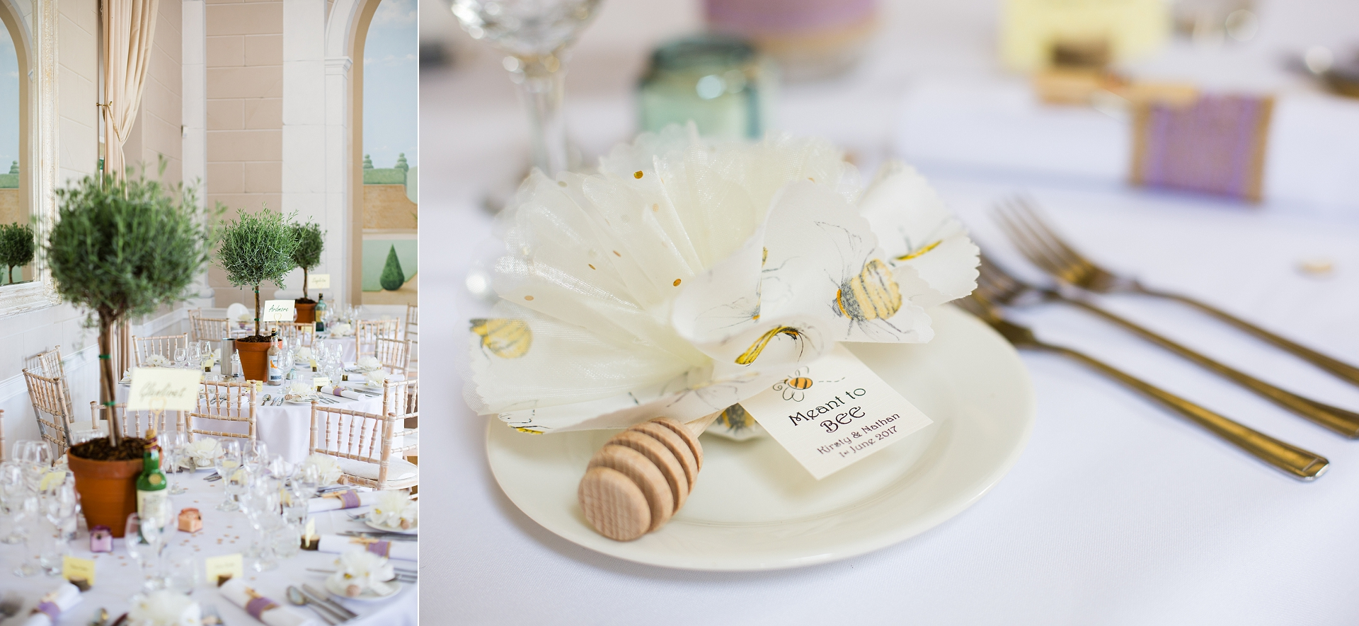 wedding breakfast details
