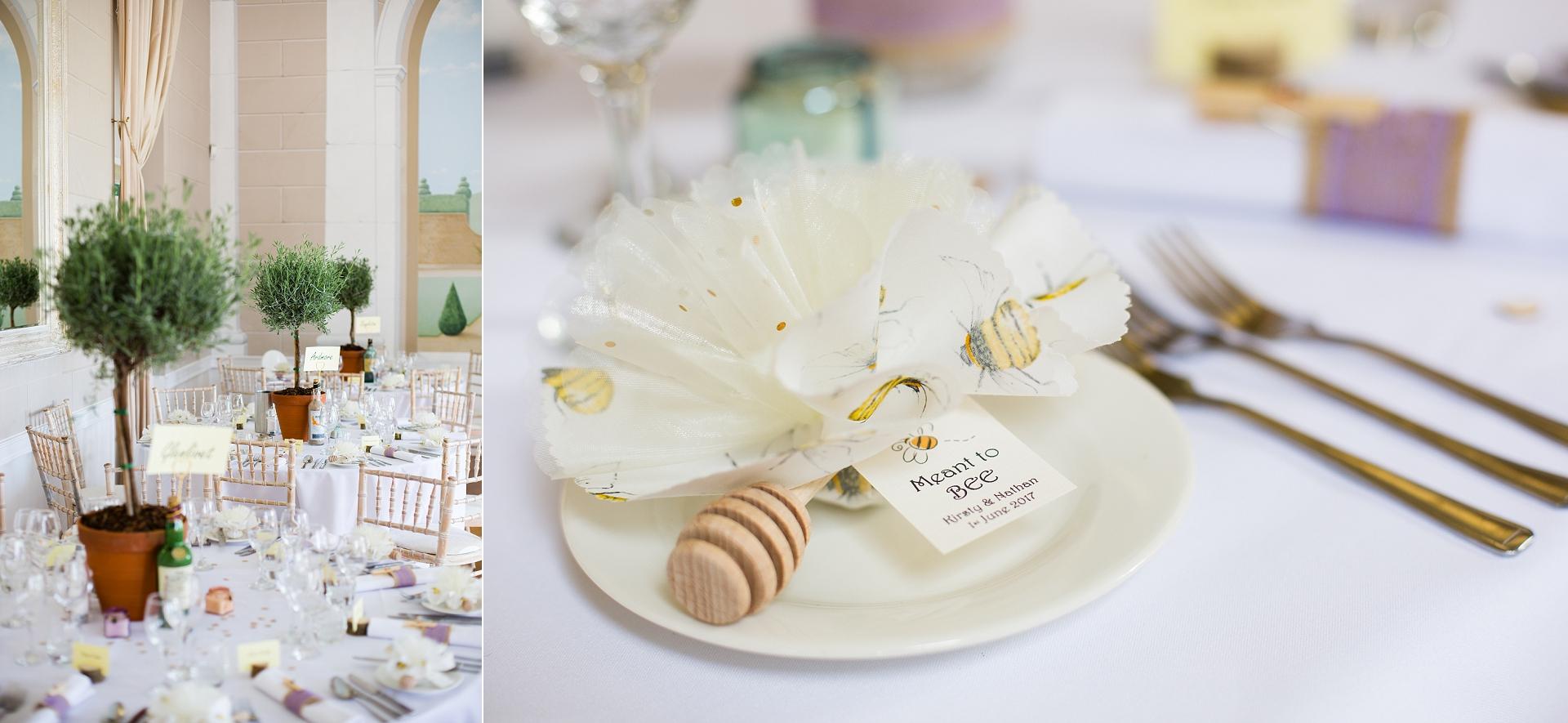 wedding breakfast details