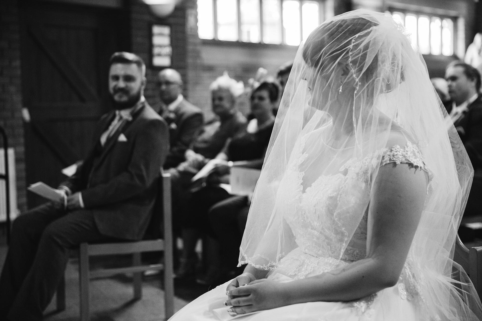 Full length veil