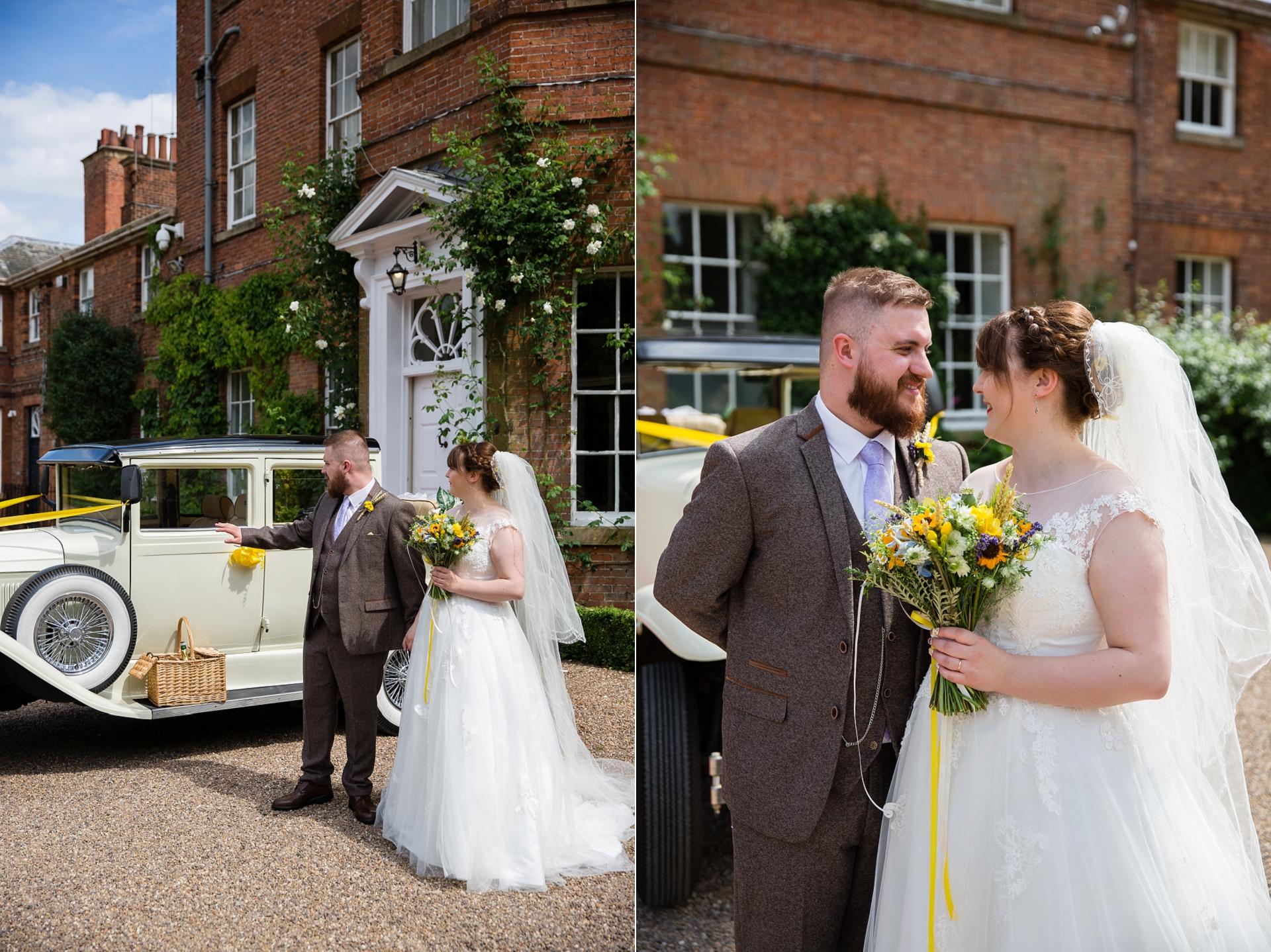 Beautiful natural wedding photography