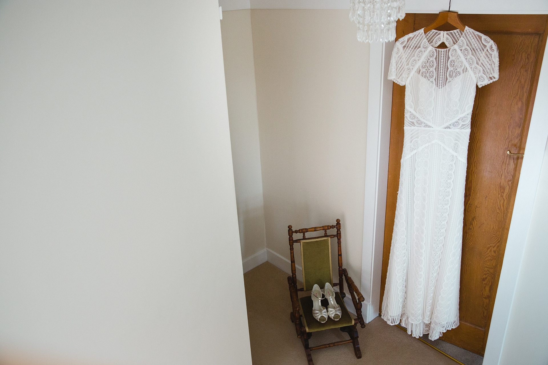 vintage style 1920's wedding dress