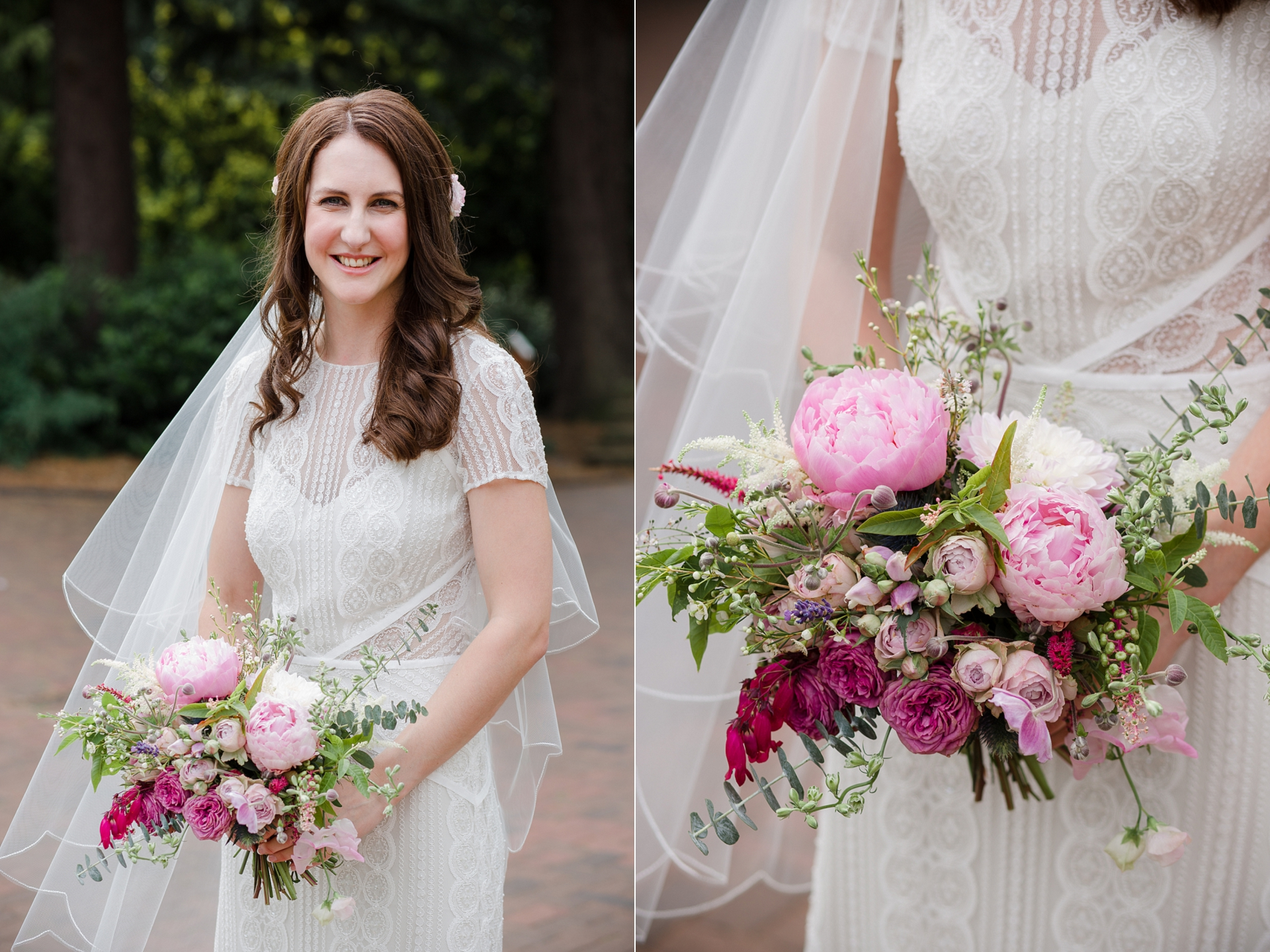 Bridal portraits fine art style