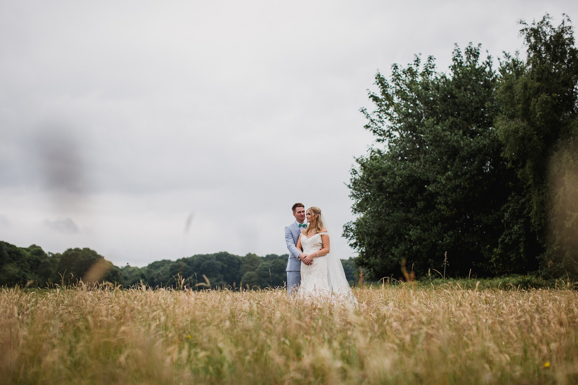 Bride and groom couple portraits at Hazel Gap Barn
