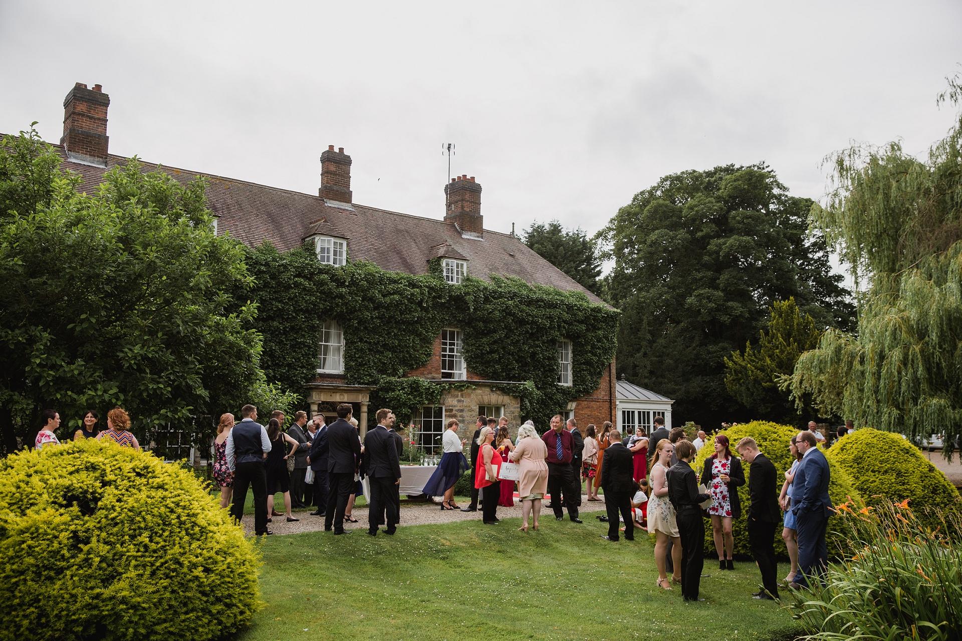 Manor house wedding in Nottingham