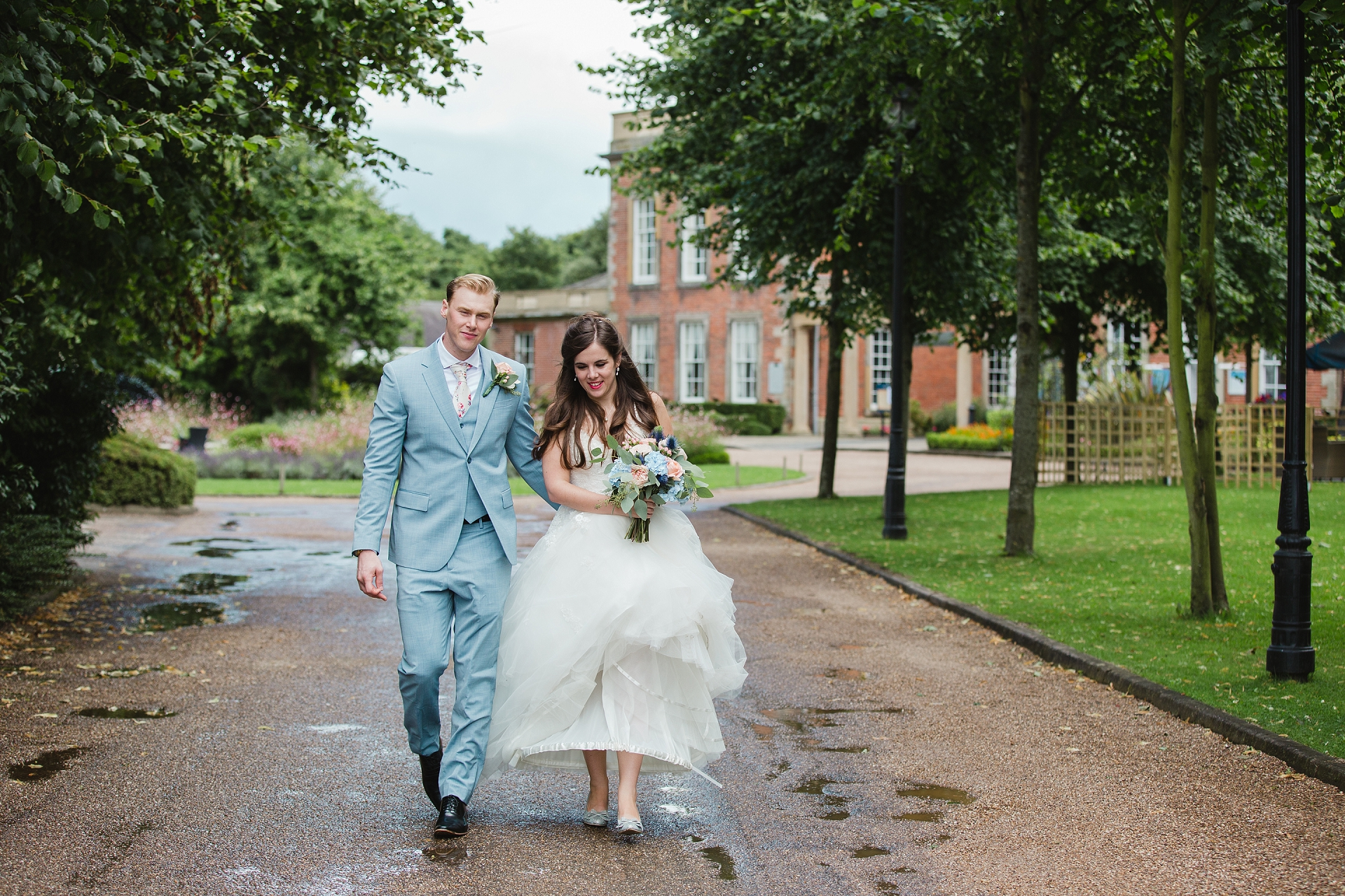 fresh summer wedding nottingham