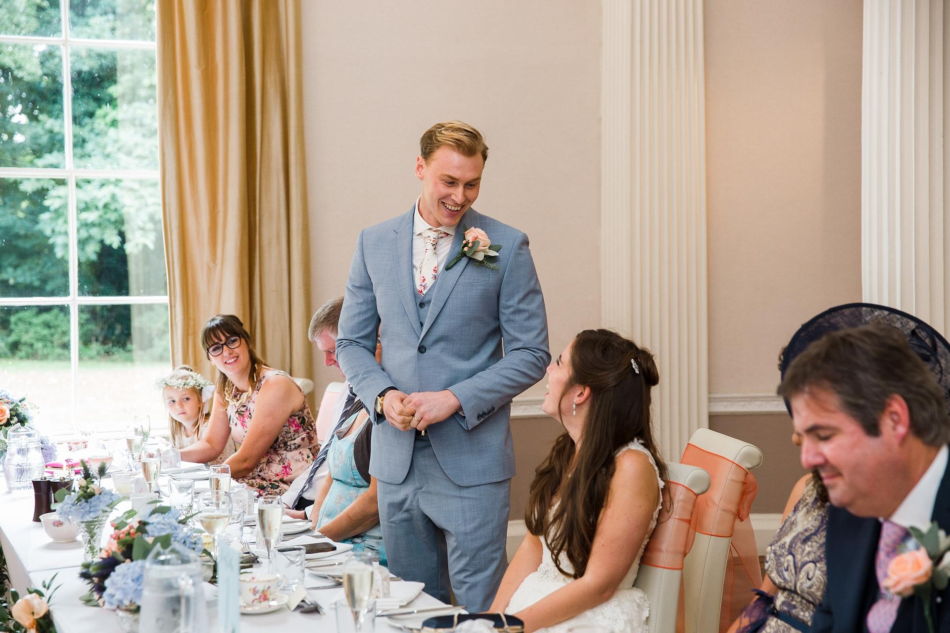 wedding speeches nottingham