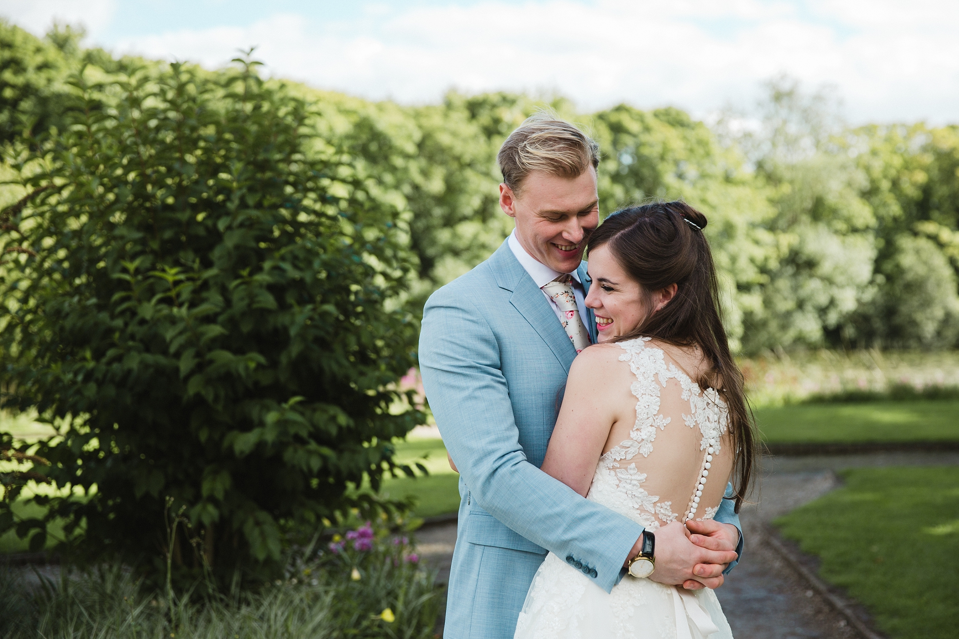 intimate Nottingham wedding