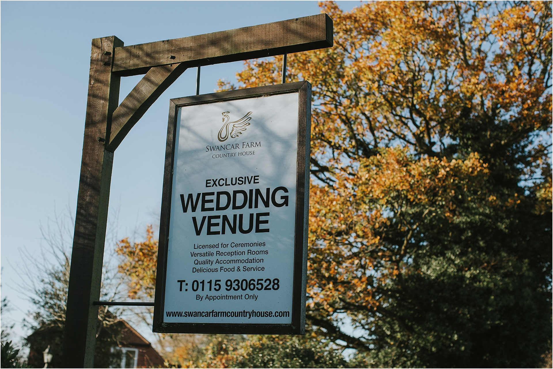 Swancar farm wedding venue