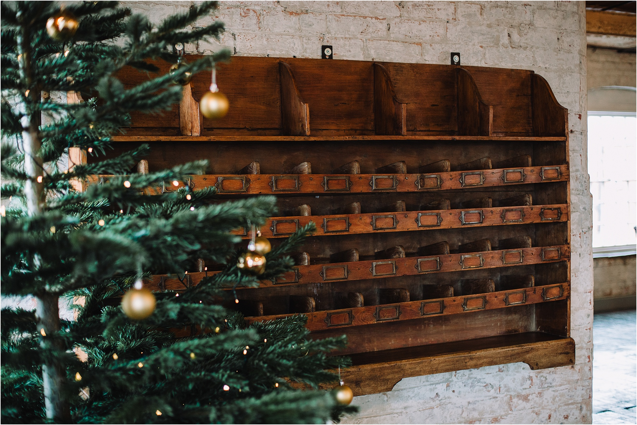 original features at the west mill wedding venue