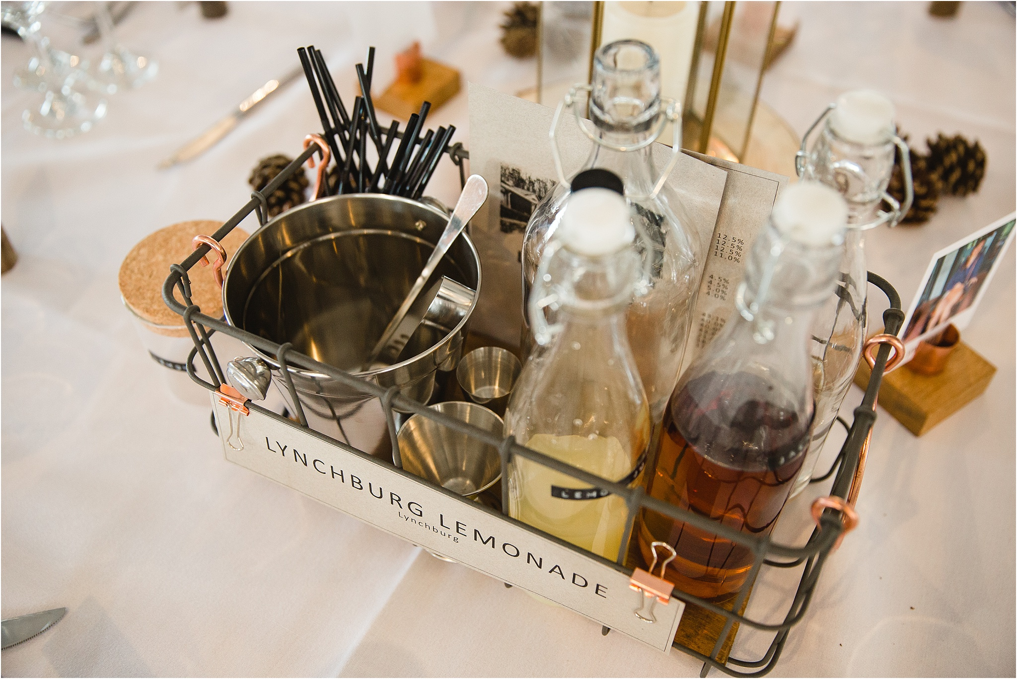 cocktail kit wedding decor