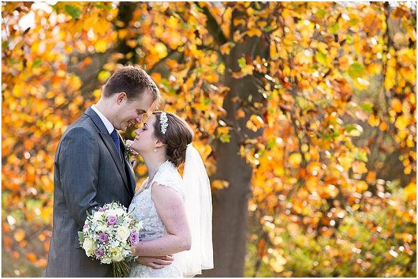 Autumn wedding at Norwood Park