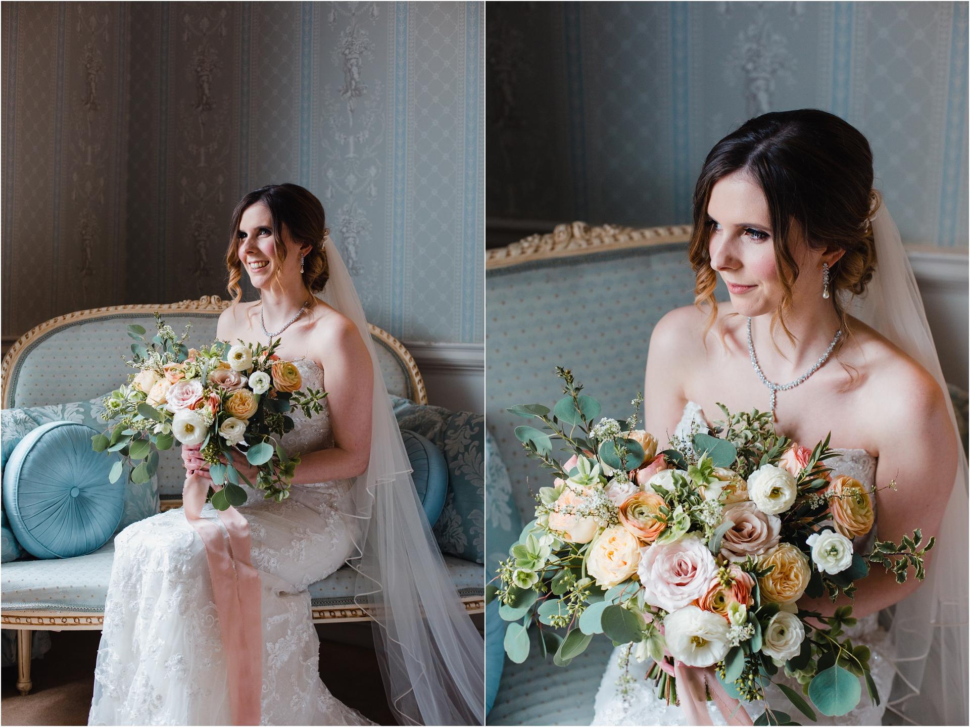 Sophia Tolli bride Norwood Park
