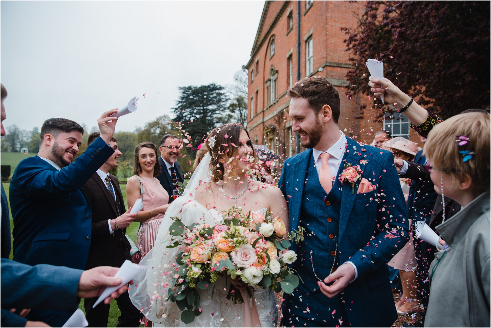confetti shot at Norwood Park