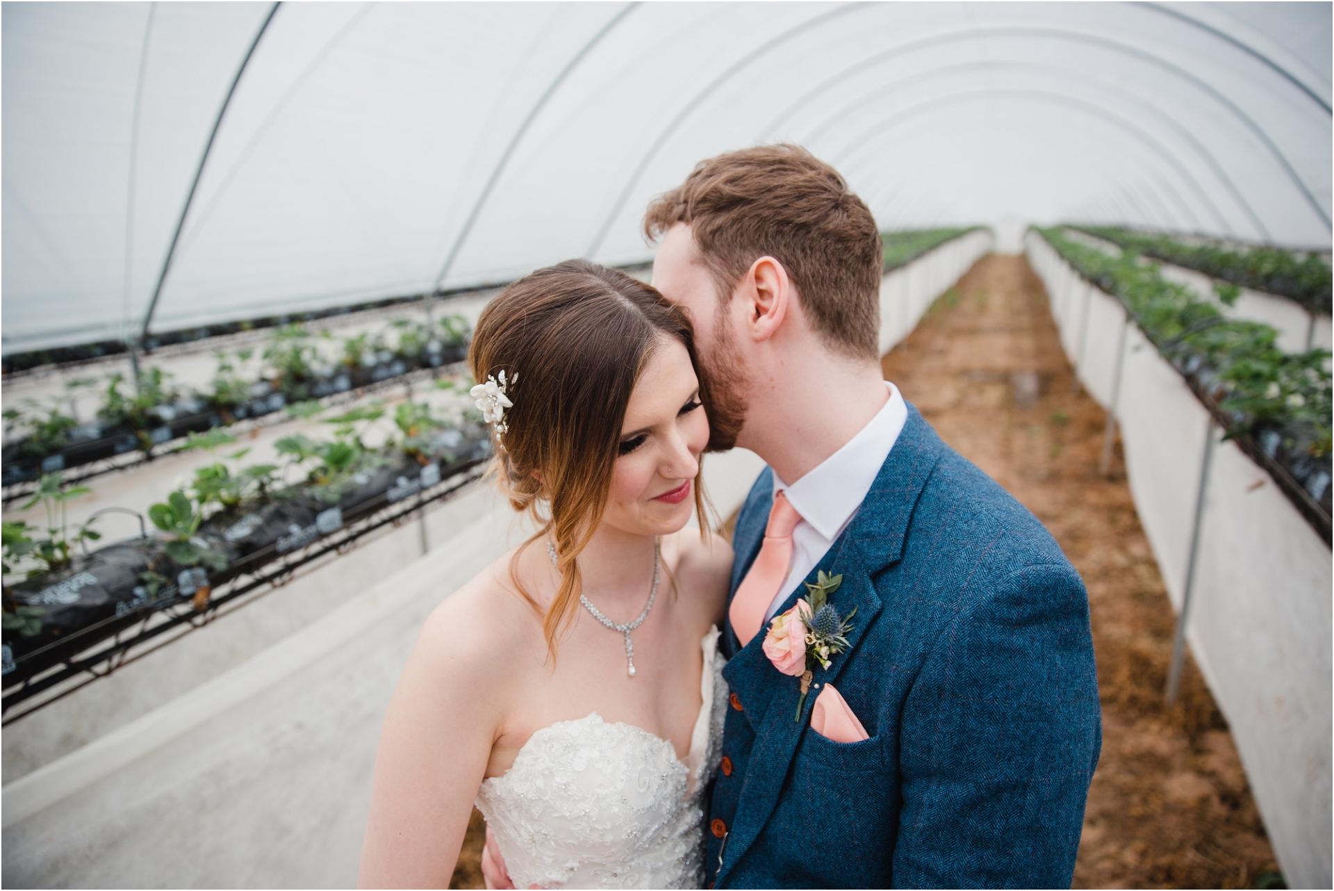 Rainy wedding at Norwood Park