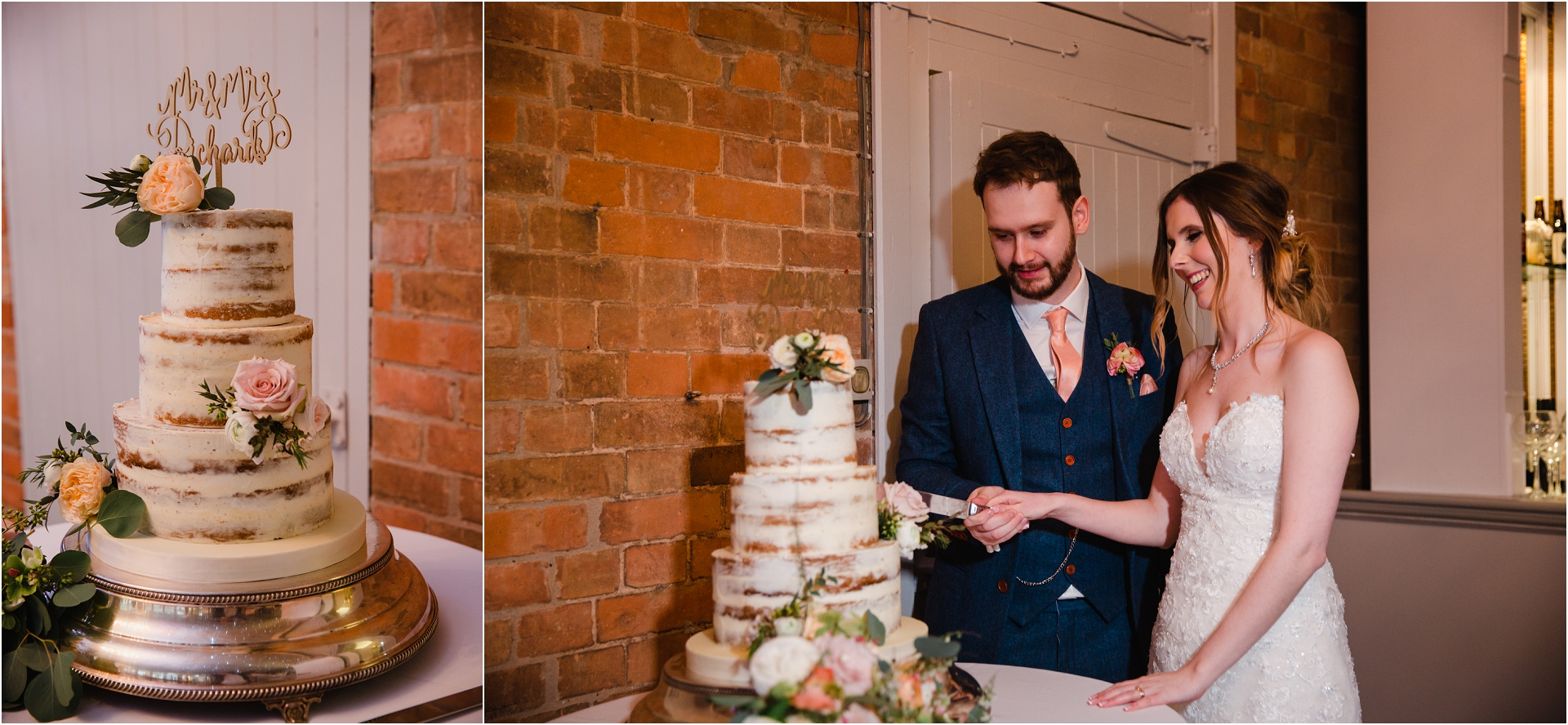 cutting the cake at Norwood Park
