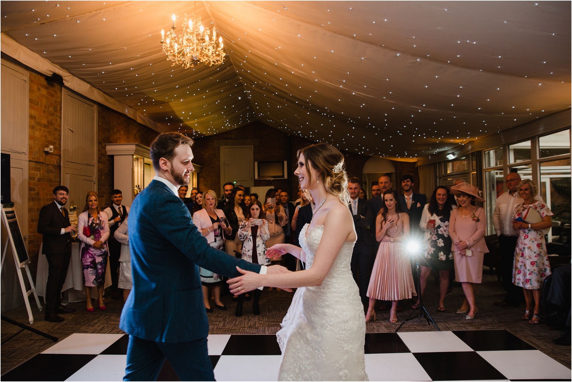 first dance at Norwood Park