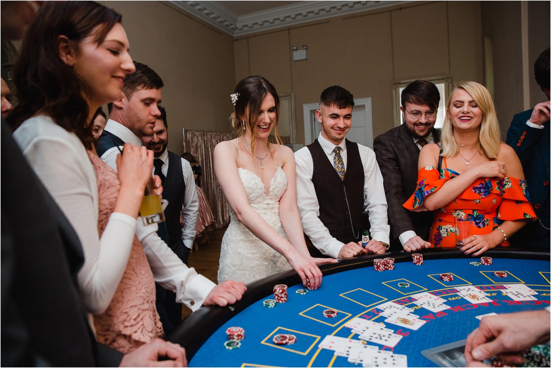 Wedding night casino