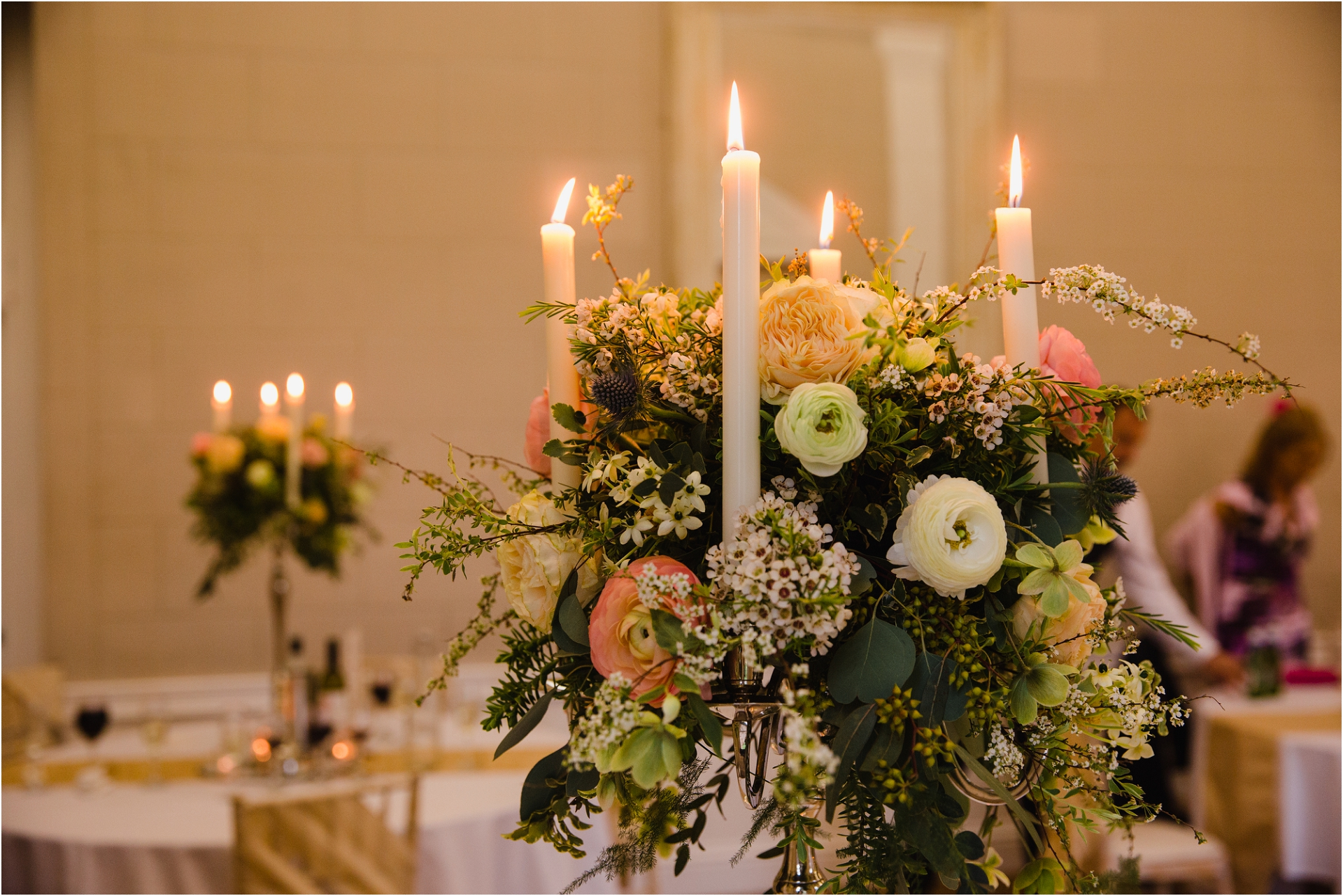 candle centre pieces Norwood Park