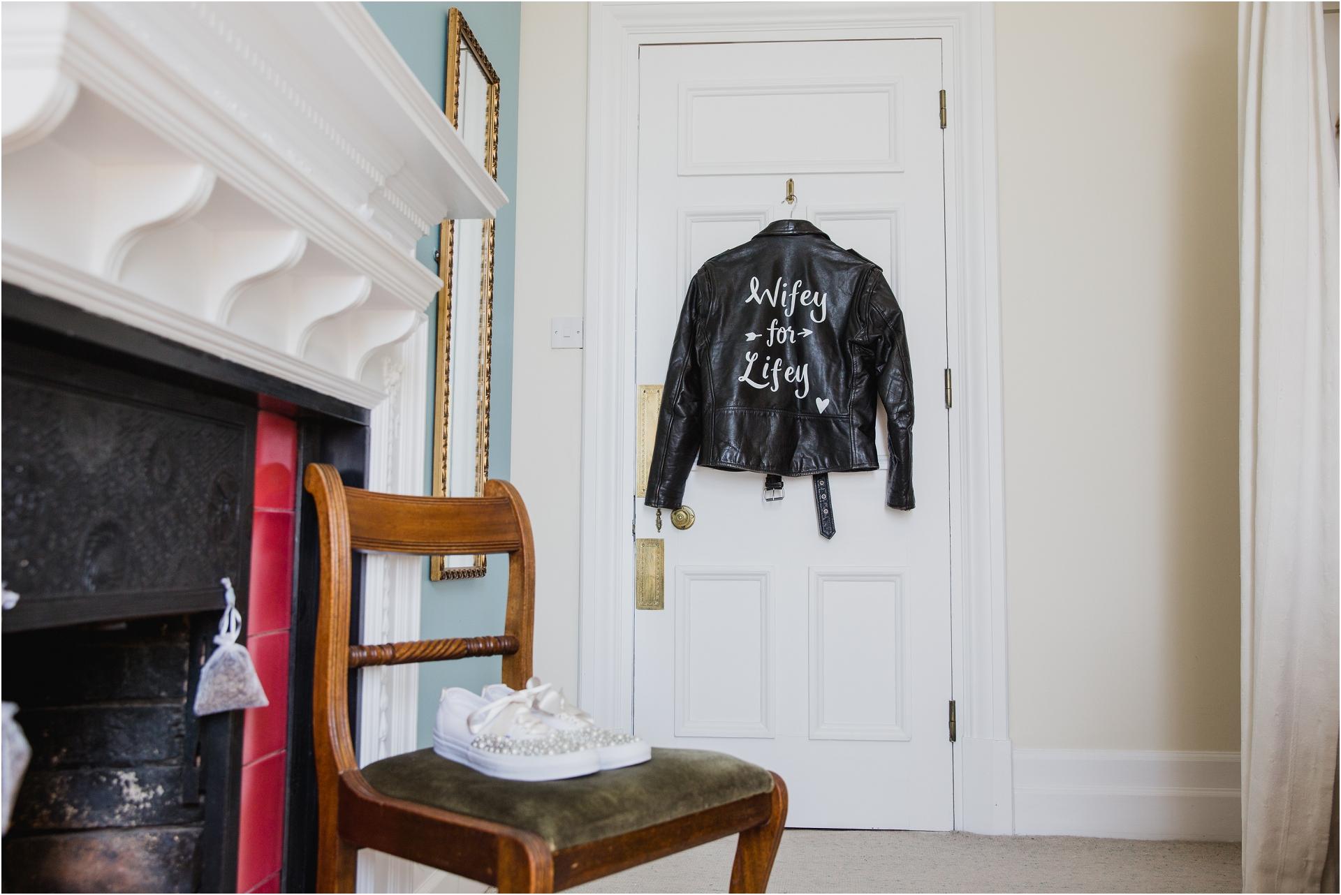 brides leather jacket