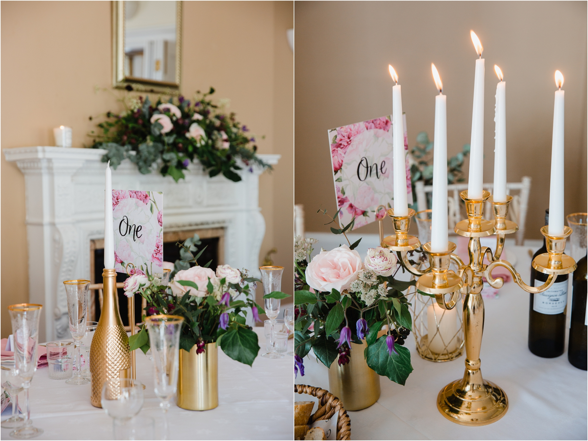 opulent vintage inspired wedding