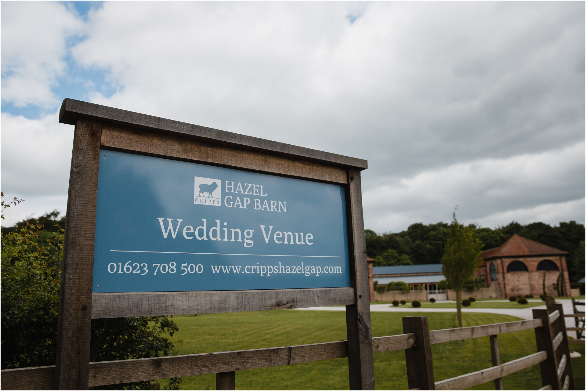 Floral Hazel Gap Barn Wedding