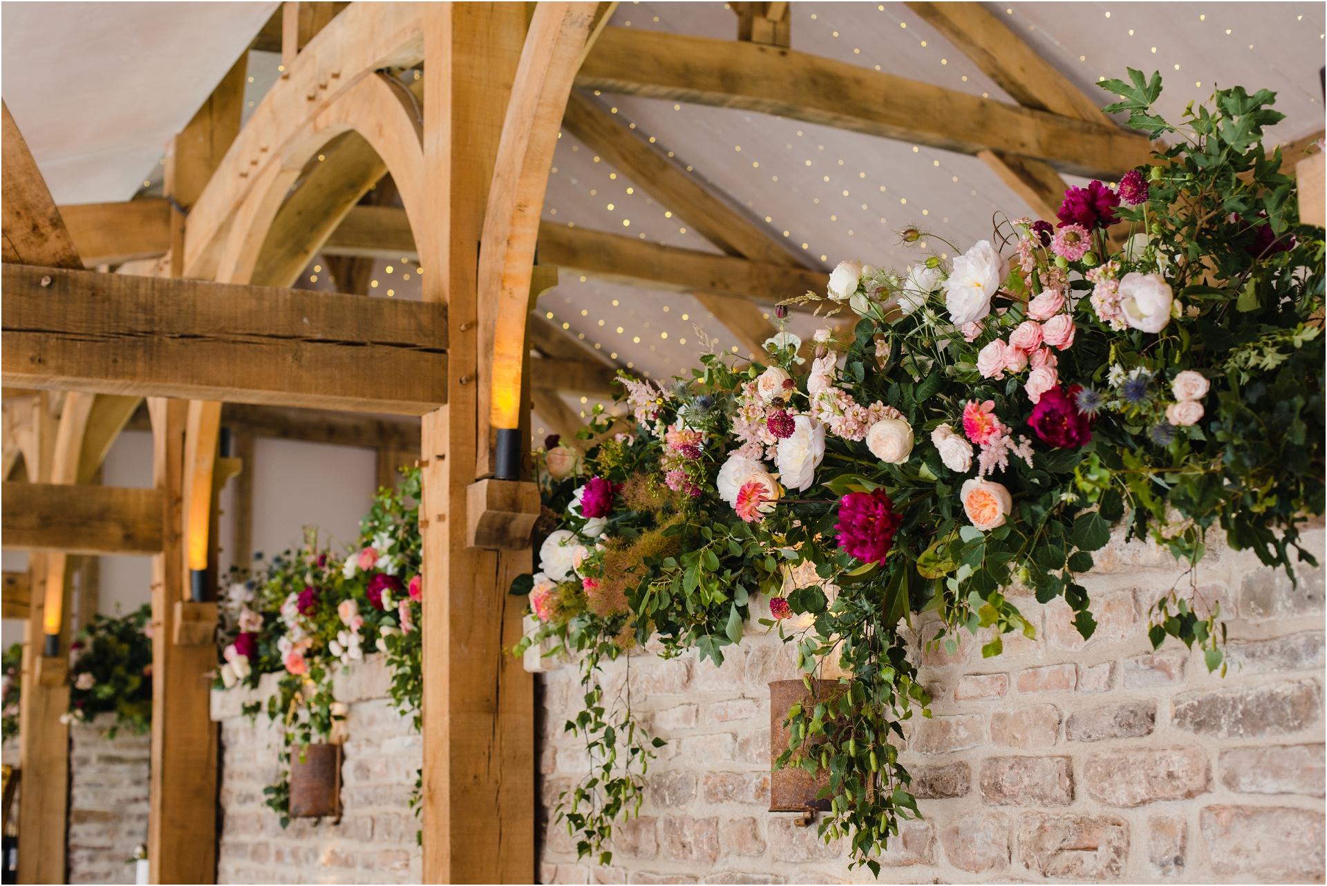 wedding flowers Hazel Gap Barn