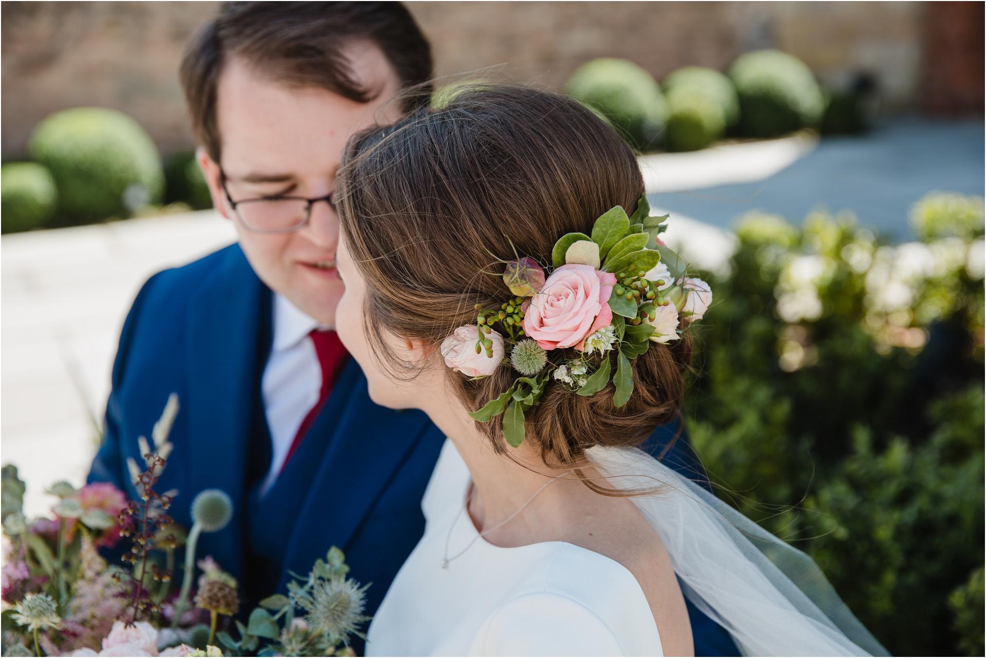 Floral Hazel Gap Barn Wedding