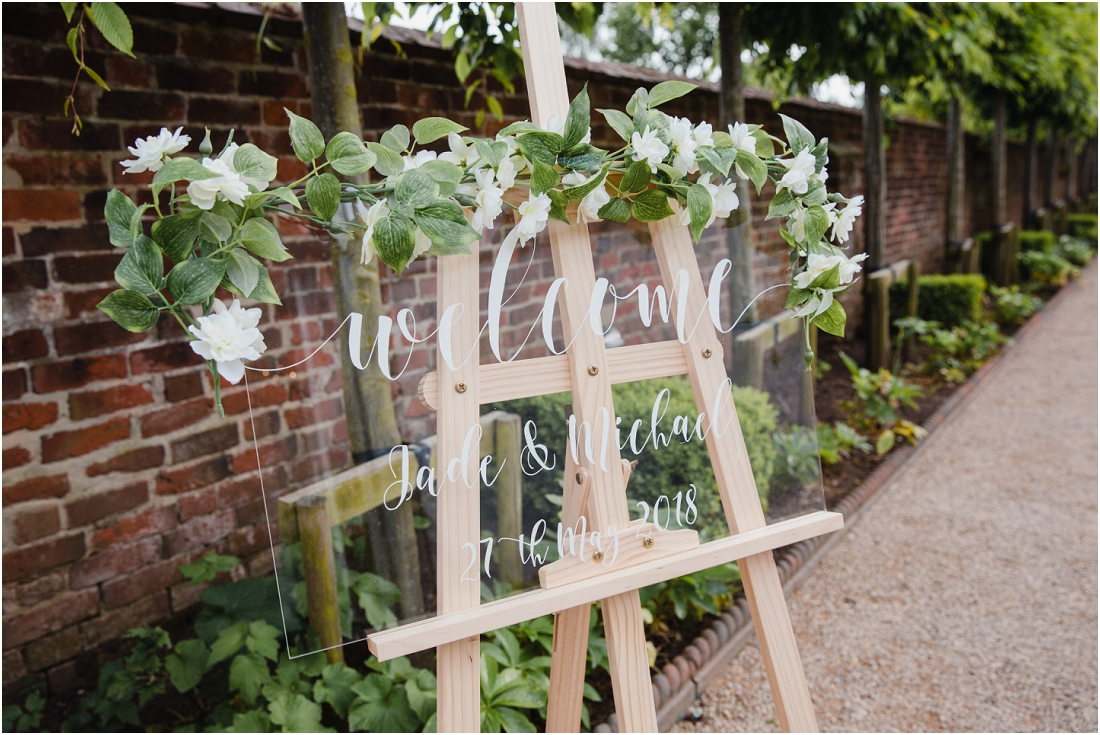 Walled Garden Wedding Beeston