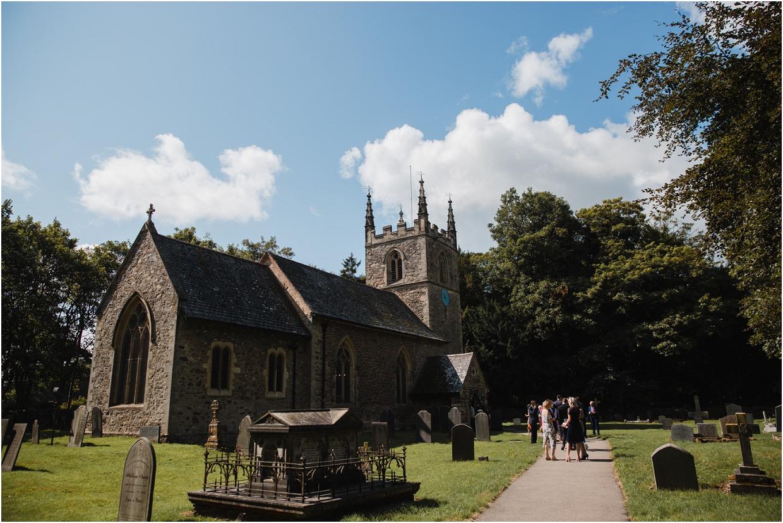 loughborough village church wedding