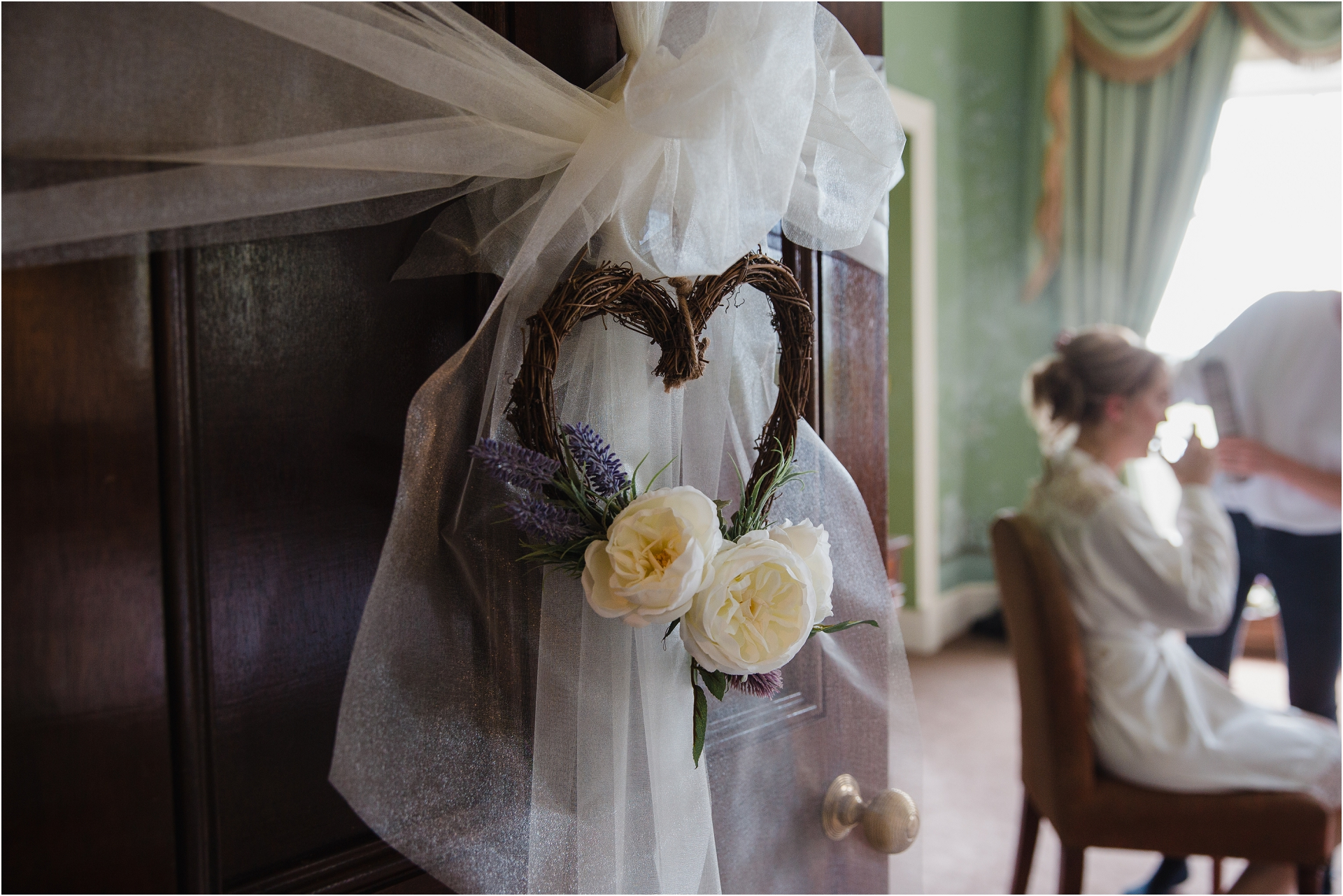 bridal preparation at stubton hall
