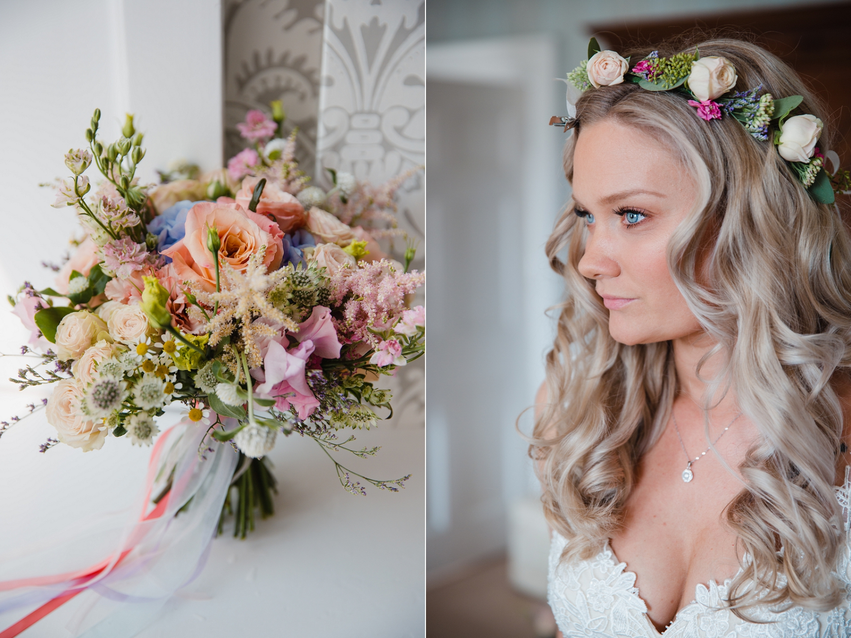 Spring wedding style at Norwood Park