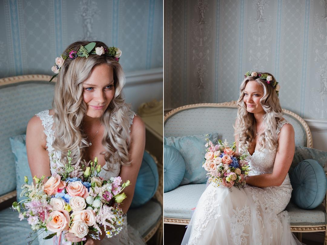 Spring bride at Norwood Park