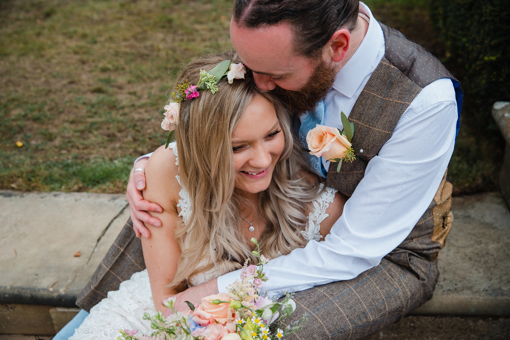 Spring wedding at Norwood Park