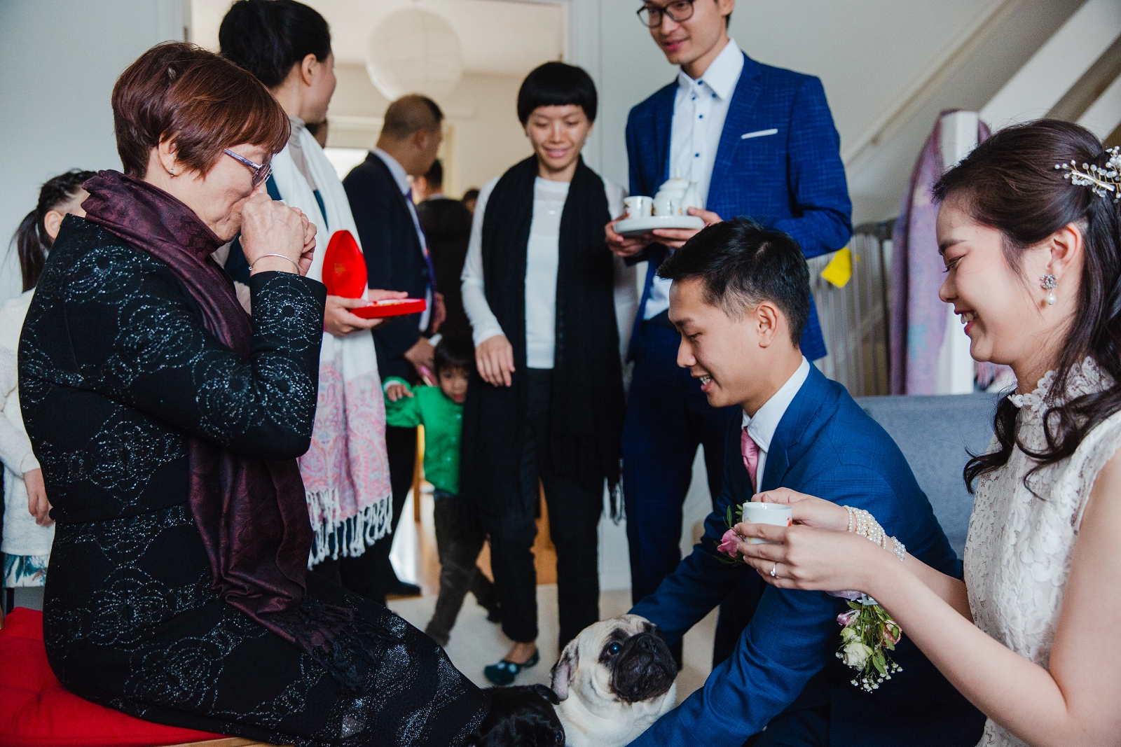 traditional chinese tea ceremony wedding