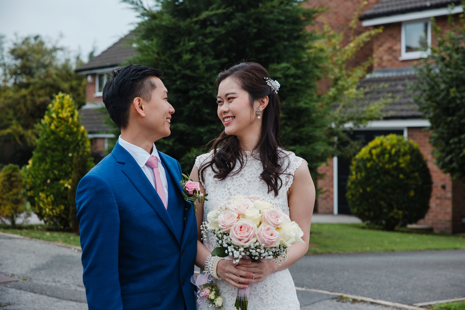 Intimate Nottingham city centre wedding
