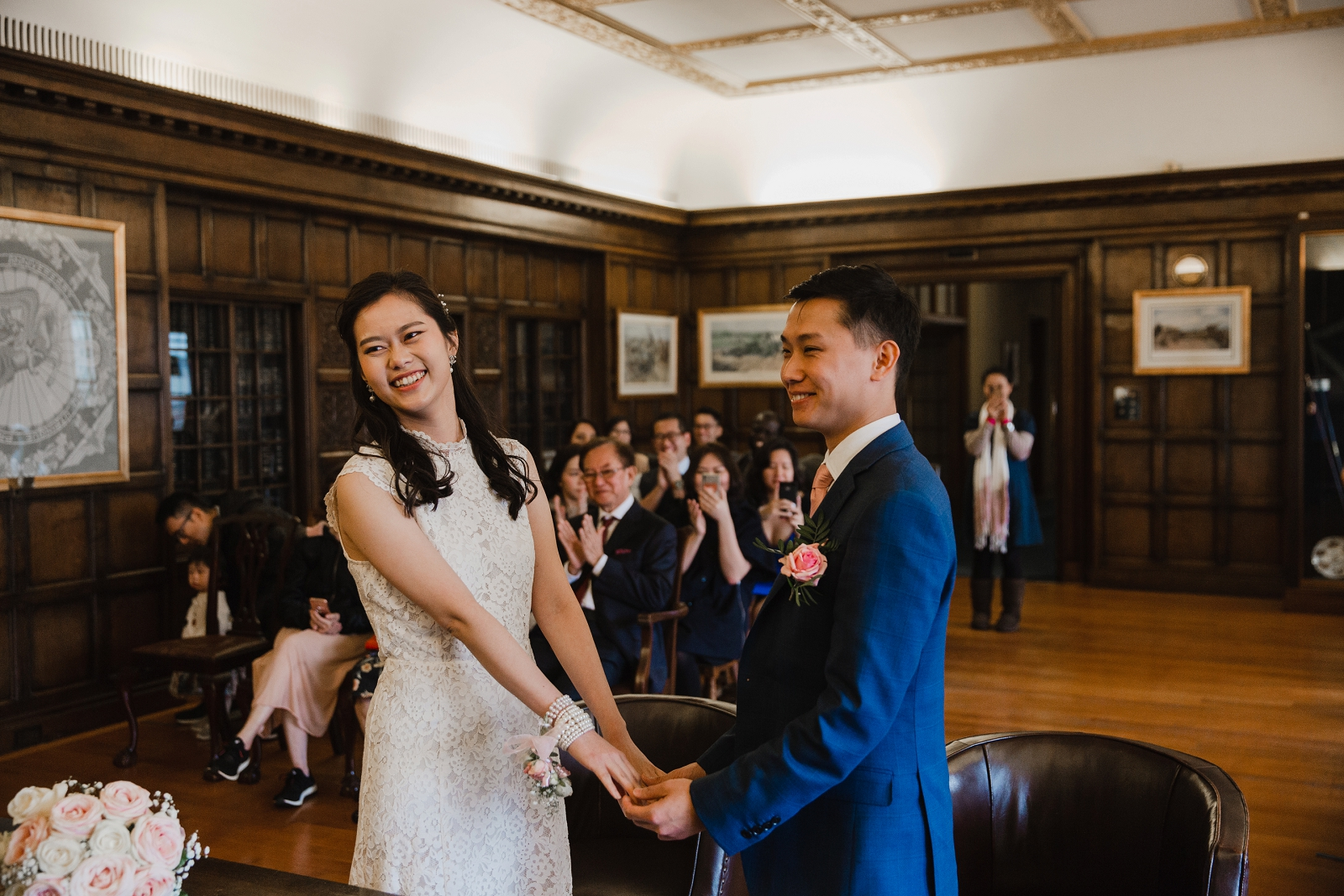 Intimate Nottingham City Centre Wedding Helen King Photography