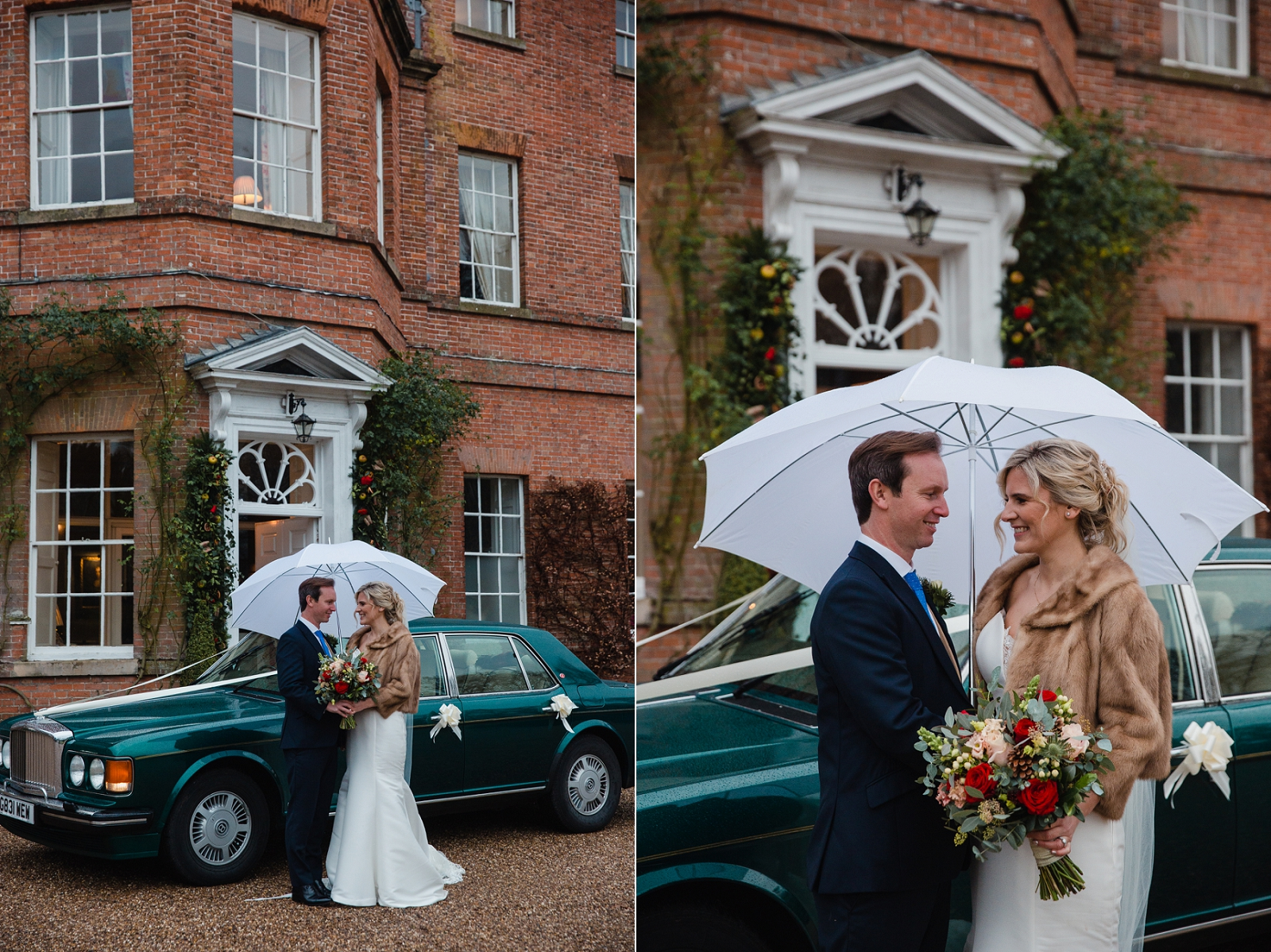 winter wedding at norwood park