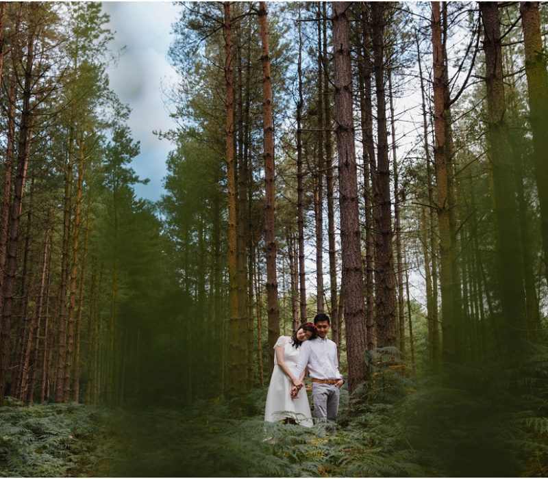 Sherwood Forest engagement session