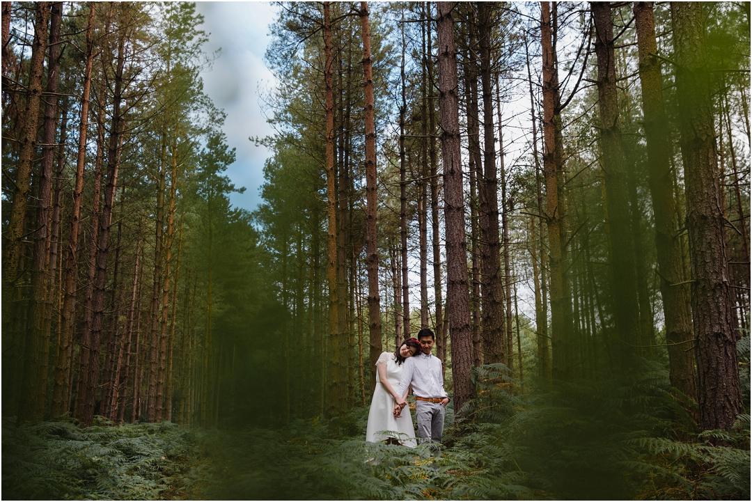 Sherwood Forest engagement session